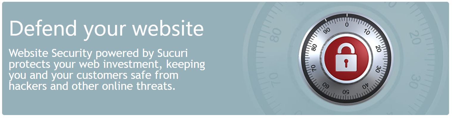 Website Security. Defend your website powered by Sucuri