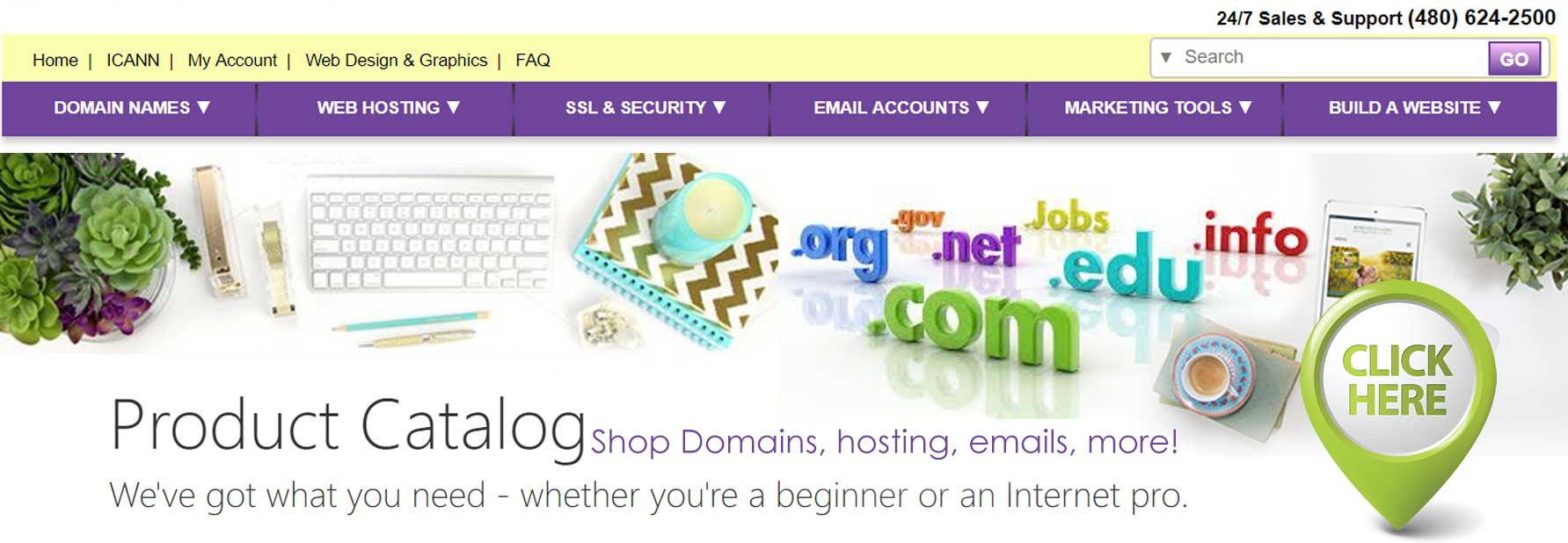 Product Catalog Domain Hosting Emails more